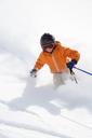 Teenage boy skiing - FOLF02910