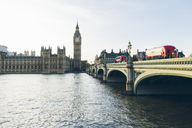 Houses of Parliament and Westminster Bridge seen across River Thames - FOLF04309