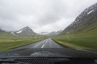 View from a car of rural road - FOLF04705