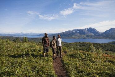 Three men hiking - FOLF04795