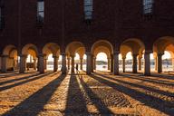 Arched columns of City Hall in Stockholm, Sweden - FOLF05197