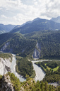 Switzerland, Grisons, Rhine river and Ruinaulta, Anterior Rhine - GWF05479