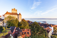 Germany, Baden-Wuerttemberg, Lake Constance, Meersburg, Meersburg Castle, lower city - WDF04544