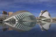 Spain, Valencia, L'Hemisferic, Palau de les Arts Reina Sofia - OLE00066