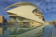 Spain, Valencia, Palau de les Arts Reina Sofia - OLE00072