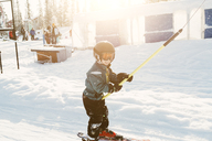 Boy skiing in Vemdalen, Sweden - FOLF06268