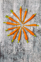 Baby carrots on wood - SARF03637