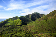 Scenic view of hills against sky - CAVF32309