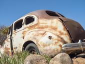 Africa, Namibia, Oldtimer wrack - RJF00743