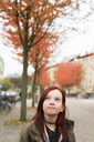 Portrait of girl with red hair - FOLF06883