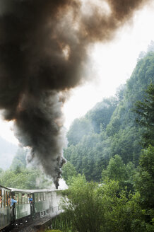 Train leaving smoke - FOLF07495