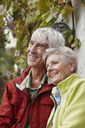 Portrait of happy senior couple - RORF01256