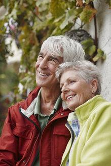 Portrait of happy senior couple - RORF01256