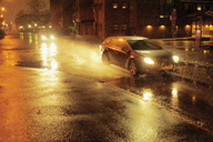 Cars on road at night - FOLF07532