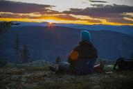 Man looking at sunset - FOLF08561