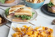 Table full of American food - SKCF00387