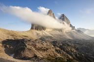 Italy, Sexten Dolomites, Tre Cime di Lavaredo, Nature Park Tre Cime - CVF00326
