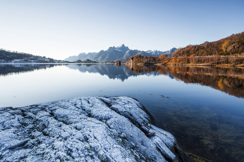 Norway, Lofoten Islands, coast and see - WVF01031