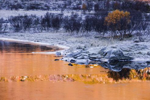 Norway, Lofoten Islands, winter landscape - WVF01053