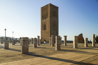Morocco, Rabat, view to Hassan Tower - TAMF01025