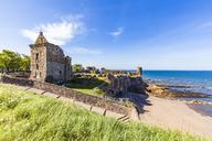 Scotland, Fife, St Andrews, Castle ruins - WD04573