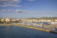 Greece, Aegina, view to harbour - MAMF00014