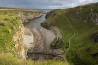United Kingdom, Scotland, Highland, Sutherland, Durness, Smoo Cave - LBF01894