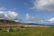 United Kingdom, Scotland, Highland, Sutherland, Crofter House, farmhouse near Bettyhill - LBF01897