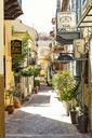 Greece, Peloponnese, Argolis, Nauplia, Old town, alley - MAMF00036