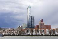 Netherlands, Rotterdam, city view - KLR00580