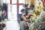 Owner working at flower shop - CAVF39149