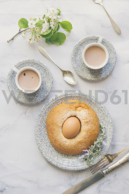Mona de Pascua, typical food of the Spanish pastry, Easter cake - SKCF00438