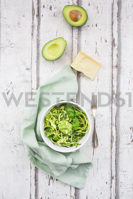 Zoodels with avocado basil pesto - LVF06896