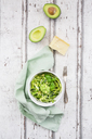 Zoodels with avocado basil pesto - LVF06896