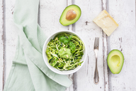 Zoodels with avocado basil pesto - LVF06899