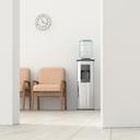 Waiting room behind ajar door, 3d rendering - UWF01397