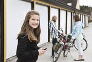 Three girls with bike - MASF06935