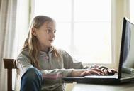 Girl at computer 2 - MASF06941