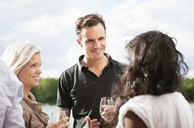 Friends at party outside - MASF06977