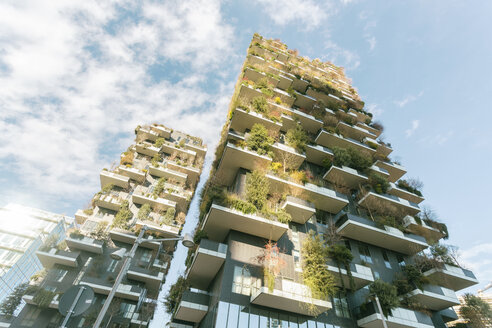 Italy, Lombardy, Milan, Bosco Verticale - TAM01036