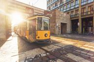 Italy, Lombardy, Milan, Porta Nuova, old tram - TAM01039