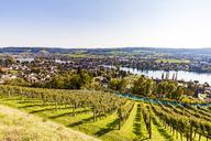 Switzerland, Canton of Schaffhausen, Stein am Rhein, Lake Constance, Rhine river, cityscape - WDF04601