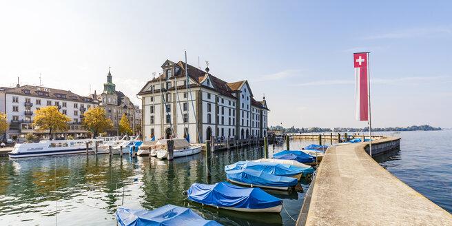 Switzerland, Canton of St. Gallen, Rorschach, Harbour, Museum, Kornhaus - WDF04622