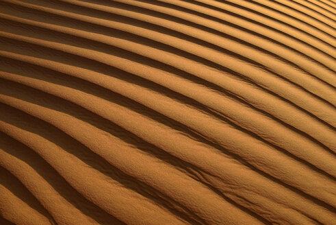 United Arab Emirates, Rub' al Khali, desert sand and ripple marks - ESF01582