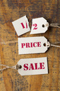 Sale tags, half-price - ZEF15393