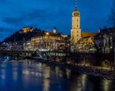 Austria, Styria, Graz, Grazer Schlossberg, Franciscan Church - EJWF00880