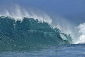 USA, Hawaii, Oahu, wave - RUEF01856