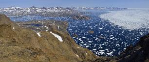 Greenland, East Greenland, Ammassalik and Kulusuk Island, icebergs and pack ice, drift ice - ESF01595