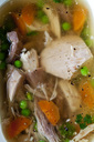 Chicken Soup, close-up - CSF29136