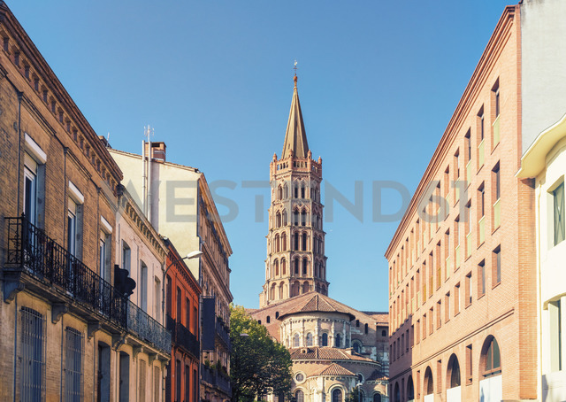 France, Haute-Garonne, Toulouse, Old town, Basilica of Saint Sernin - TAMF01062 - A. Tamboly/Westend61